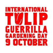 international Tulip Guerrilla Gardening Day 2011